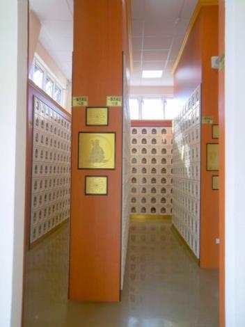 大內納骨堂設施-1樓西南區個人式骨灰櫃