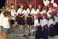 阿立母夜祭-平埔族曾是台灣大地的主人,「吉貝耍」木棉花之意)的夜祭,可以讓我們再度識大地主人的真實生活。