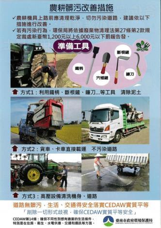 農耕改善措施