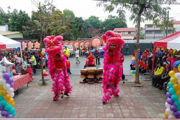 東山國中舞獅團