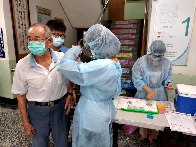 施打疫苗現況