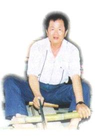 竹藝工作者郭德山老師