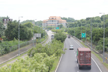 關廟交流道連結國道三號與86東西向快速道路照片共2張