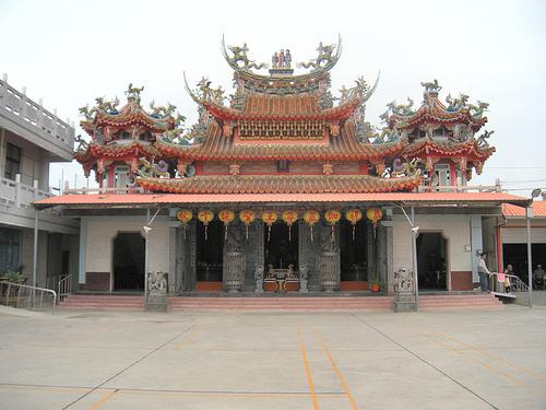 烏山頭太子廟