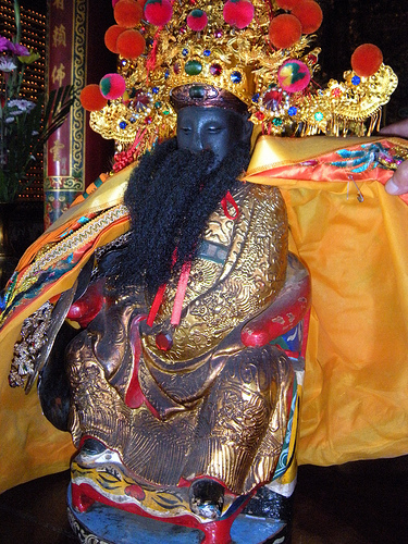 五庄王神像