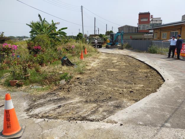 110.04.01公所道路恢復原狀之現況