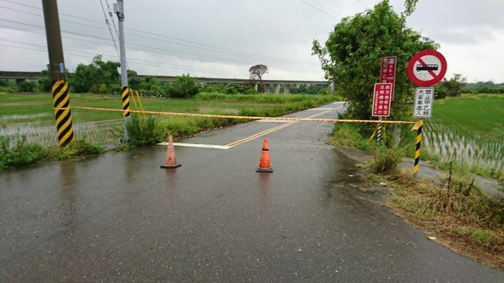 官田南119中脇往社子路段兩側入口施行預防性封鎖,請注意改道及行車安全。(已於6月20日下午17時解除封鎖)