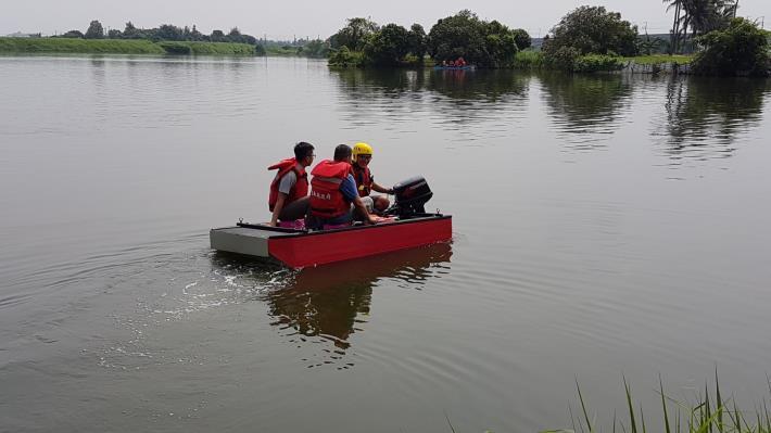 108年管筏膠筏操作人員專業教育訓練