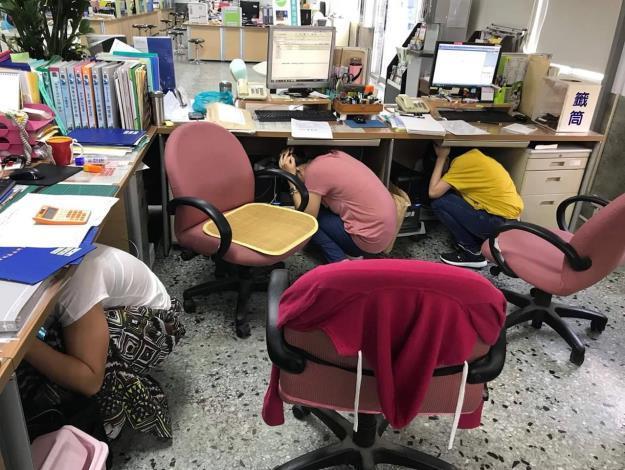國家防災日全民地震網路演練