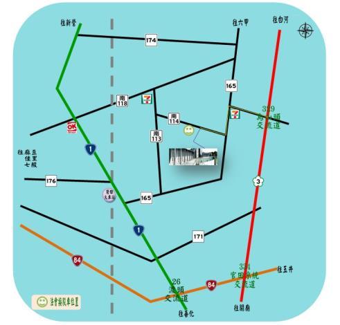 如何到達角秀山生命紀念館之交通資訊(位置圖)