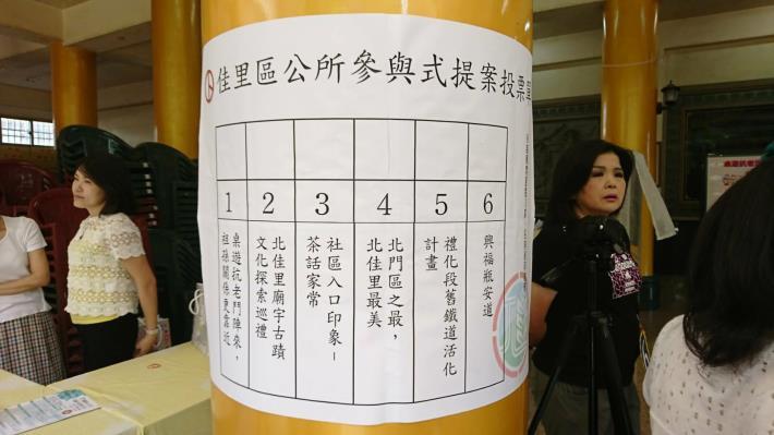 參與式預算投票記者會(106年8月16日)