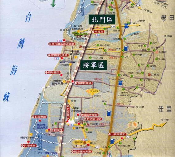 本所位於南19線,往北通往學甲區,往南可至佳里區