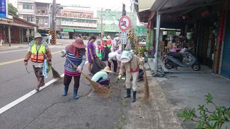 共同清掃社區環境
