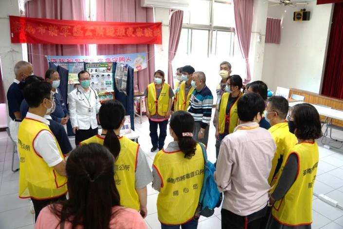 災害防救民間團體志工教育訓練─衛生所作衛教宣導