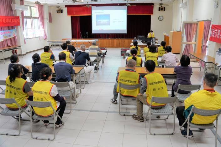 災害防救民間團體志工教育訓練