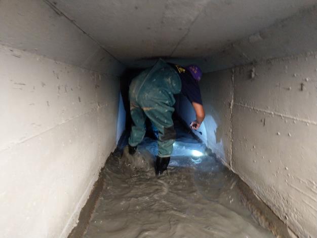 C幹線雨水下水道地毯式檢查