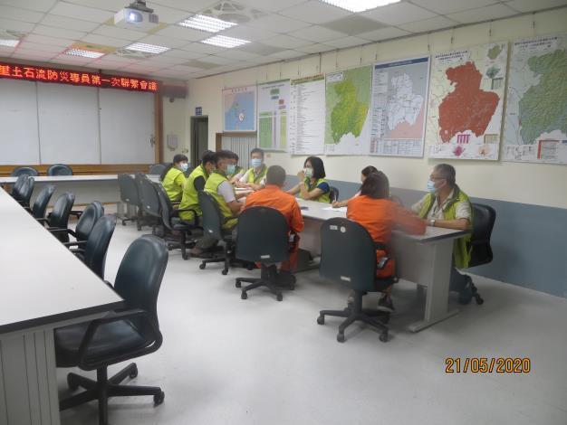 109年度臺南市龍崎區龍船里土石流防災專員第一次聯繫會議照片3
