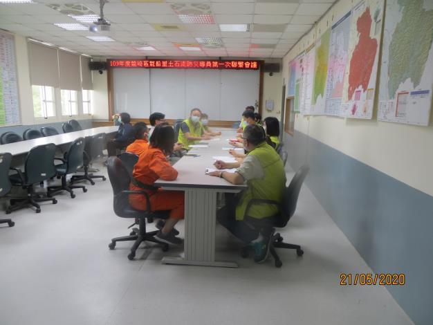 109年度臺南市龍崎區龍船里土石流防災專員第一次聯繫會議照片5