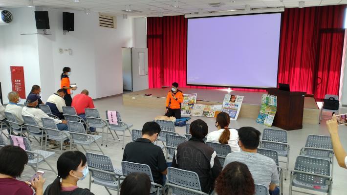 南化區109年度民防團常年訓練暨防災宣導-消防隊CPR教導