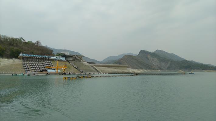 南化水庫蓄水量現約37%