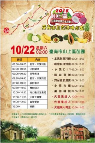 1022火龍果產業文化活動海報