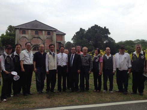 臺北市大同區公所到訪(1)參觀國定古蹟臺南水道淨水場
