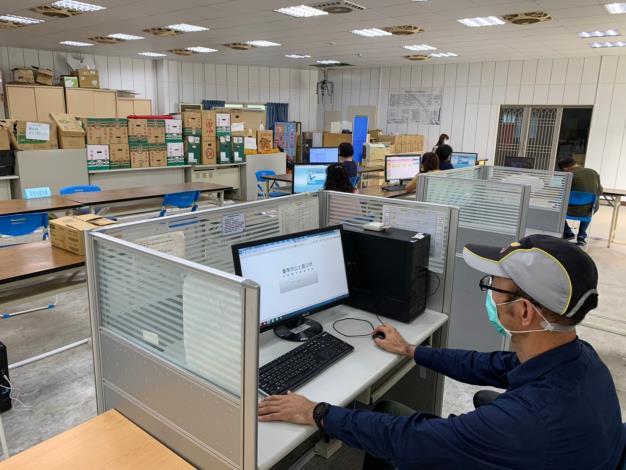 新冠肺炎分區辦公室實地演練06
