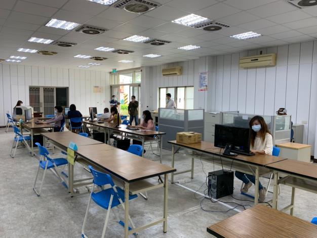 新冠肺炎分區辦公室實地演練03