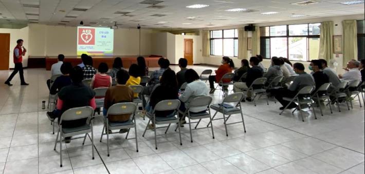 北區區公所109年AED「安心場所認證」講習1