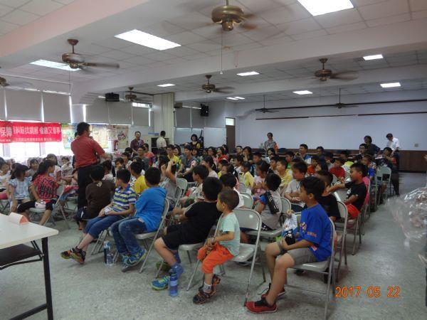 特別邀請轄區東興國小60名學生參與教育訓練及避難演練