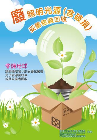 資源回收宣導-照明光源