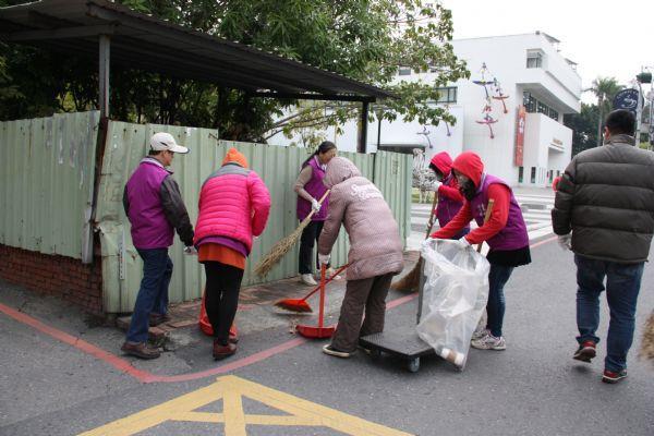 員工環境清掃