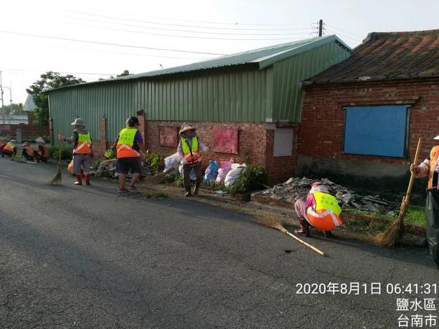 路面堆積物清除