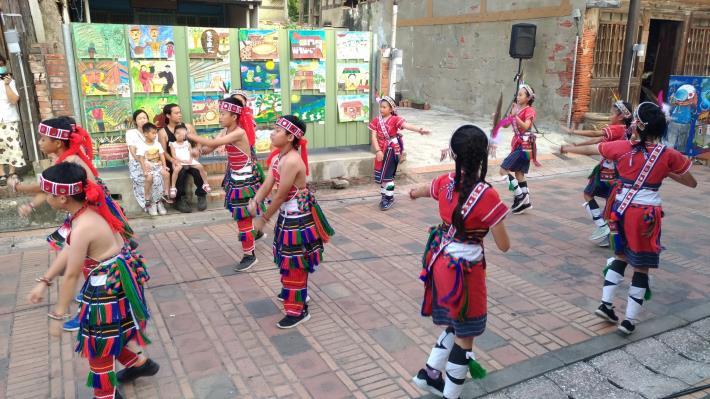 竹埔國小原住民舞