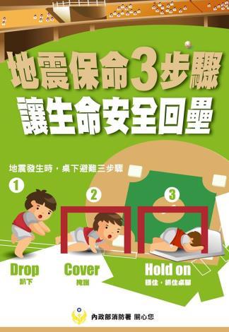 地震三步驟