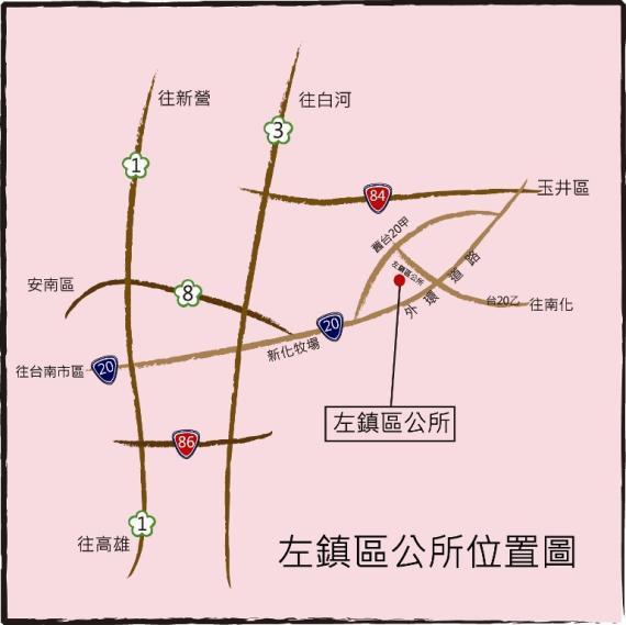地理位置圖