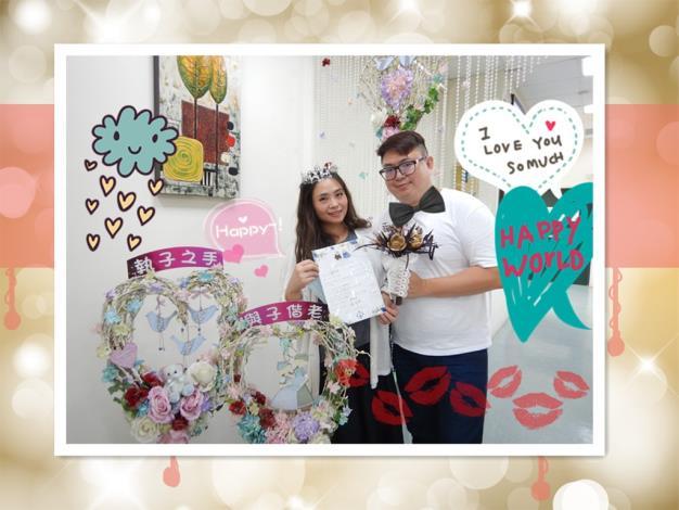 1090512葉小姐結婚