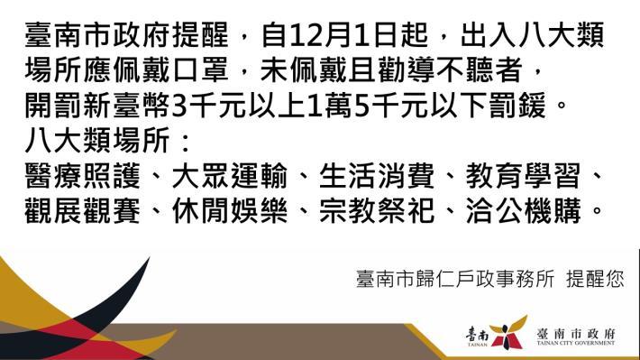 1091201秋冬防疫戴口罩宣導圖