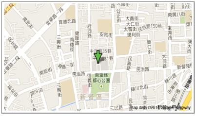 本處民治市政中心辦公室地圖