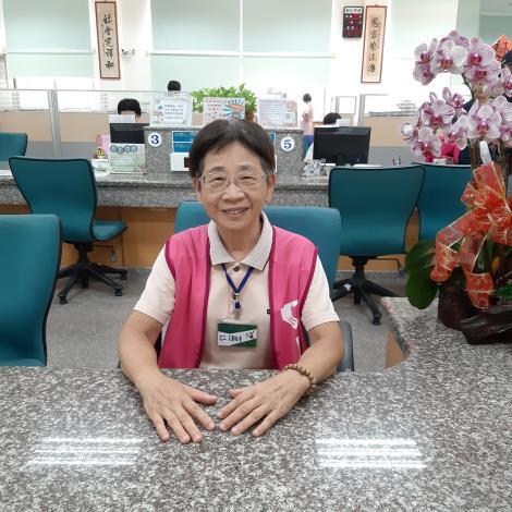 志工王鄭桂香女士