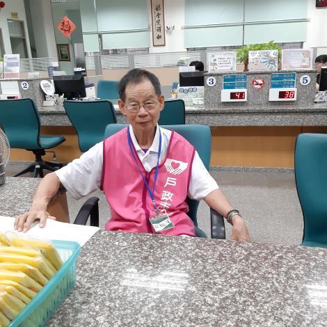 志工陳展昌先生