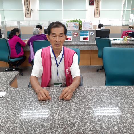 志工楊道乾先生