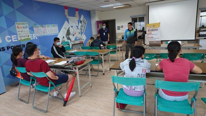 1090521至移民署台南第一服務站戶政業務宣導2
