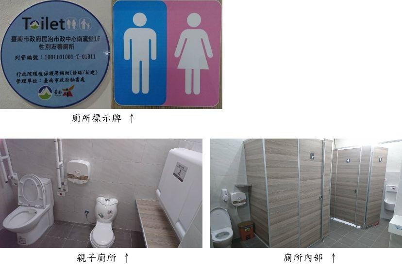 南瀛堂性別友善廁所