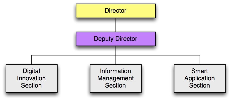 Smart Development Center's Organizational Chart