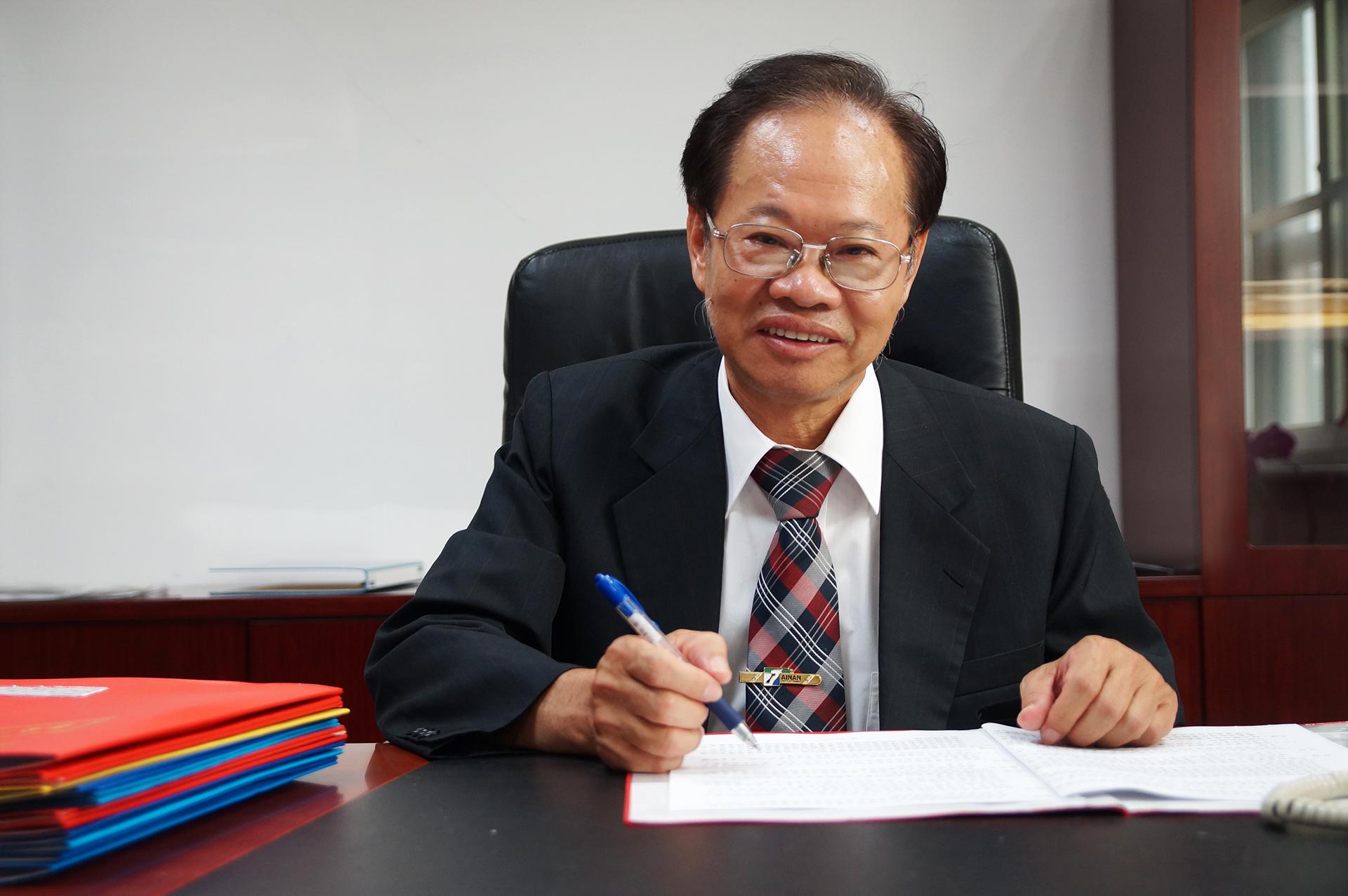 臺南市政府工務局局長蘇金安