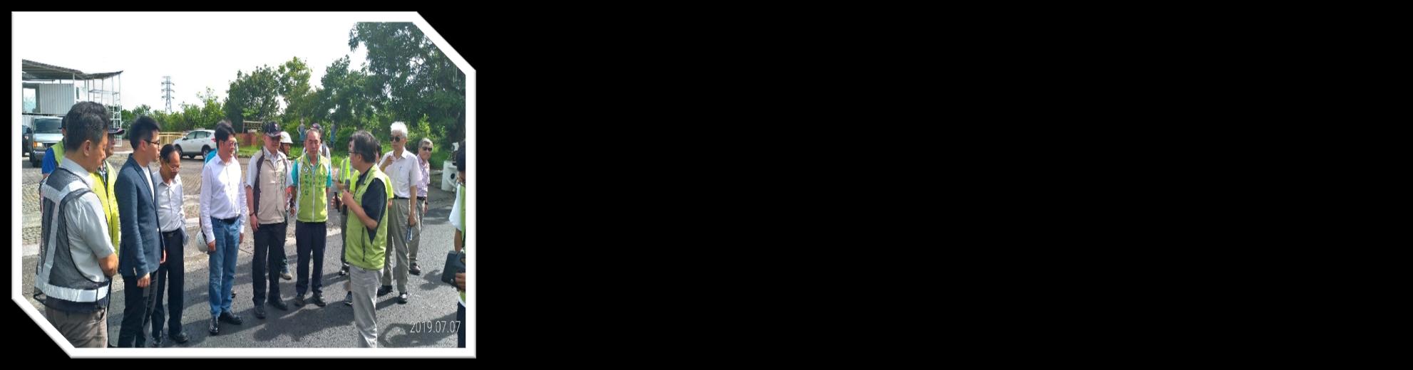 專題報導內容6、交通部黃次長玉霖視察「柳營區南95線及南108線道路優質化工程」。照片是黃次長、許副市長及蘇局長聽取業務單位說明。按下連結可閱讀全文。