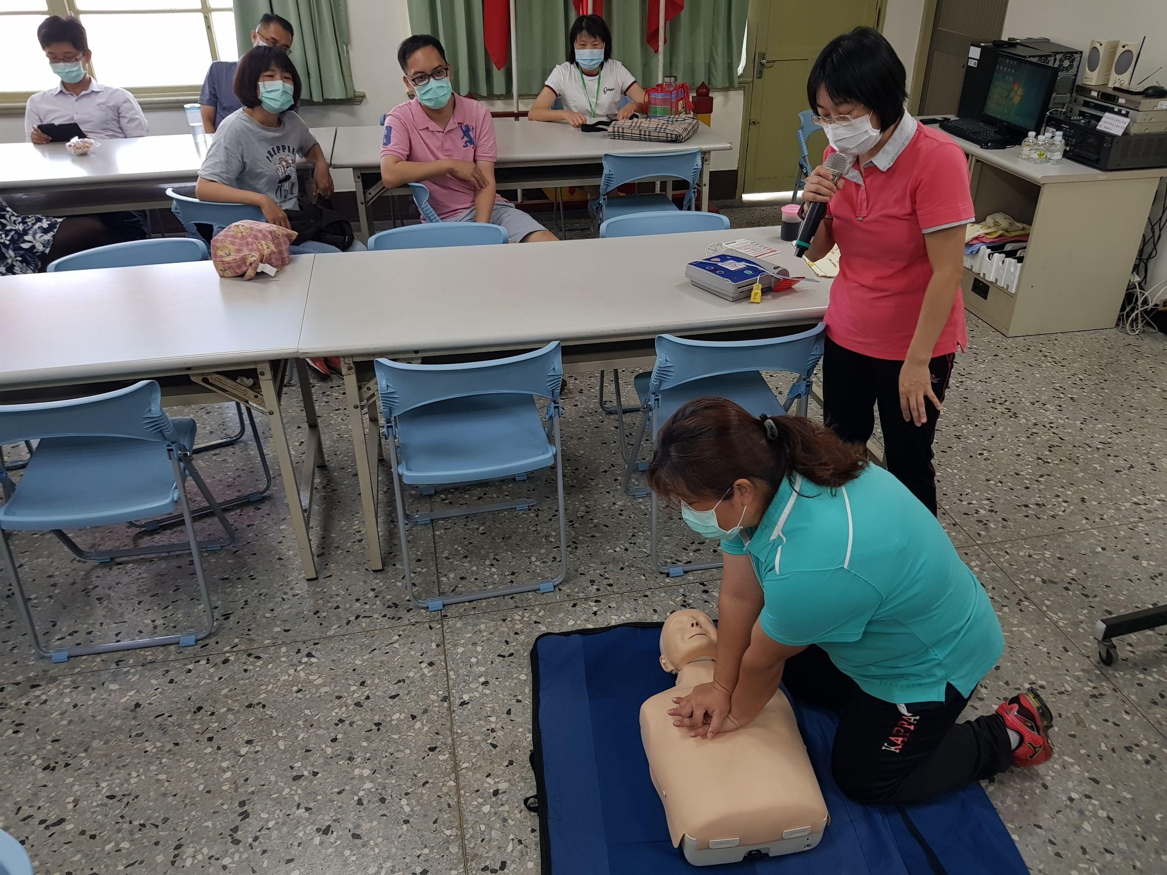 AED教學