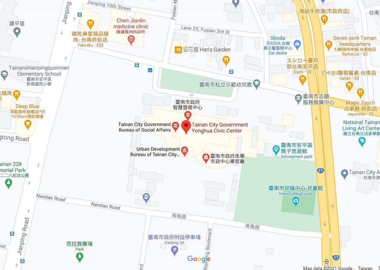 Yonghua Civic Center map