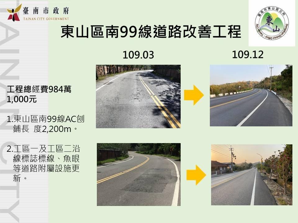 南99道路改善工程